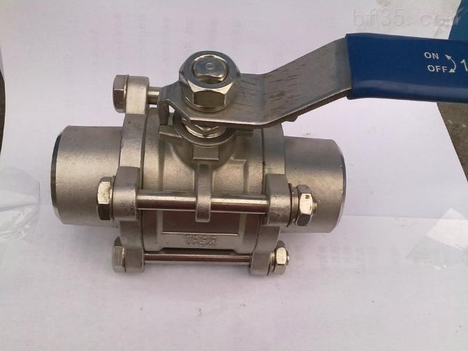 q61f-16p-不锈钢三片式焊接球阀图片
