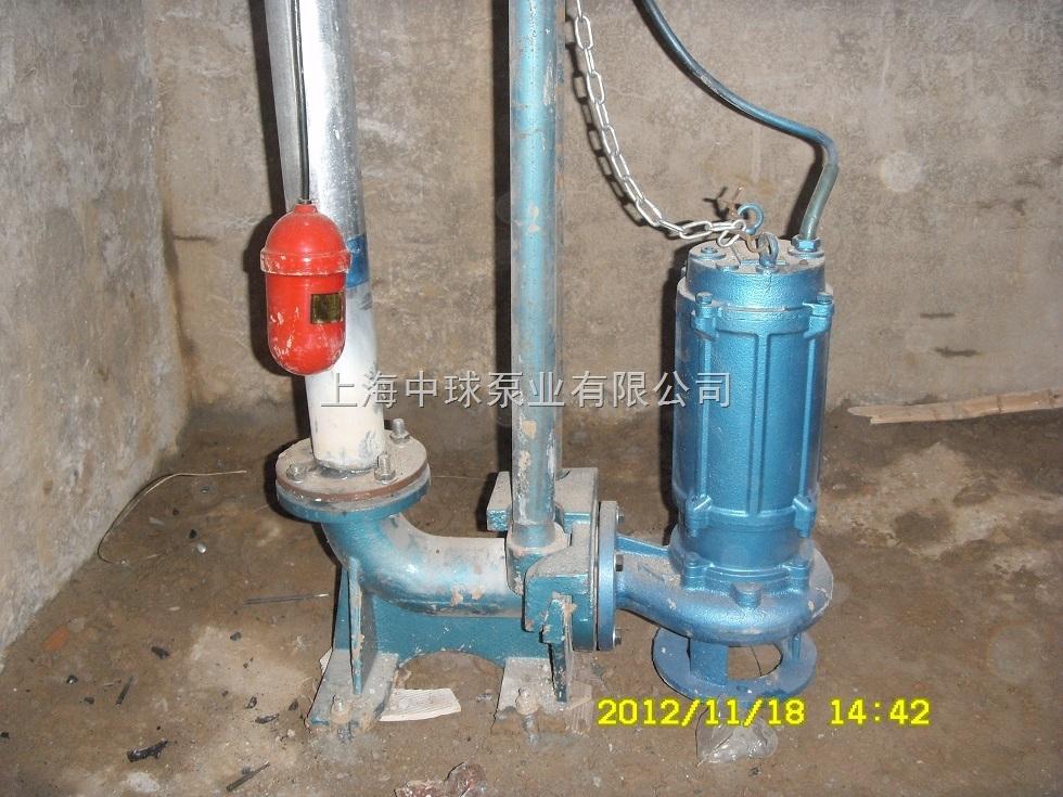 wq自动耦合潜水排污泵