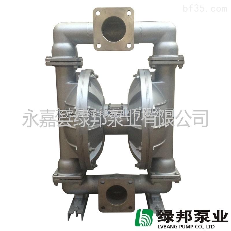 不锈钢气动隔膜泵厂家图片