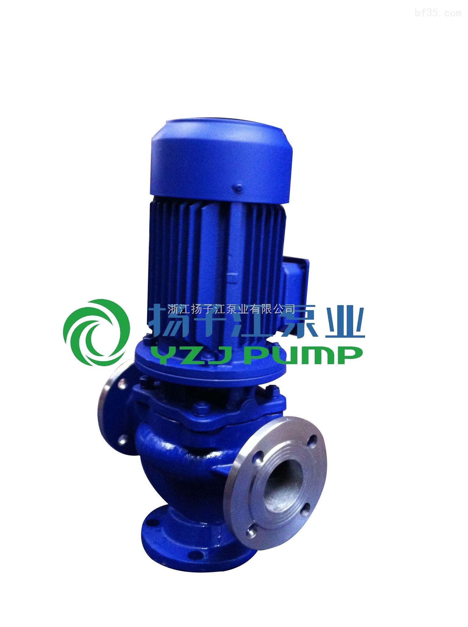 无堵塞管道污水泵 50GW20-7-0.75 立式排污泵 GW污水泵型号
