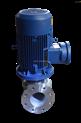 ISGB3寸不锈钢立式化工管道泵 高温循环管道泵 防爆增压管道泵
