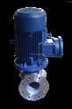 不銹鋼耐高溫熱水防爆管道離心泵IHG80-160立式304/316耐腐蝕管道泵