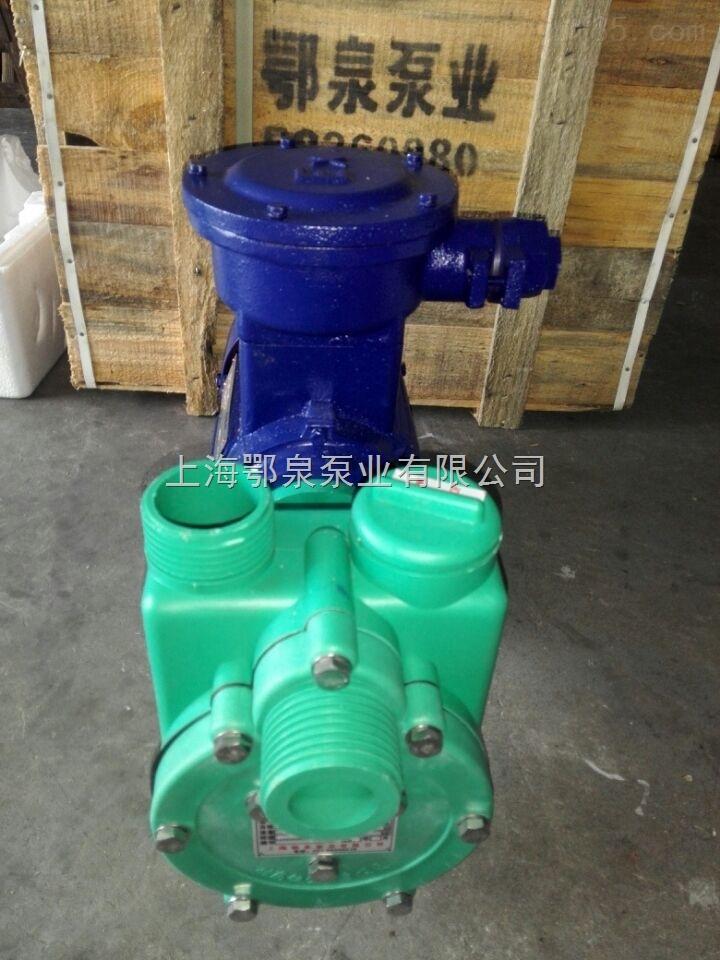 耐腐蚀防爆塑料自吸泵