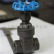 铸钢内螺纹闸阀Z11H 碳钢蒸汽闸阀 碳钢丝口闸阀