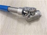 DN50弹簧自动复位球阀,弹簧自动归位不锈钢球阀