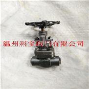 600LB內螺紋鍛鋼截止閥 A105-F304 11.0MPa