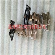 3寸 F316L J61H-600LB锻打焊接美标截止阀