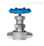 对焊接波纹管针型阀