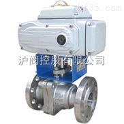 上海沪工Q941F 型 PN16~PN63 浮动软密封电动球阀
