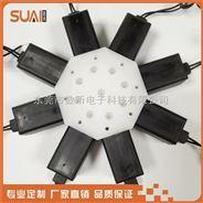 微型電磁閥組八聯環形閥 數幣電磁閥價格便宜