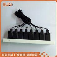 微型八聯排閥電磁閥組耐腐蝕 數幣電磁閥組價格