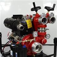 雙出口手抬式高揚程柴油水泵