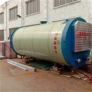 暴雨积水下的一体化雨水泵站