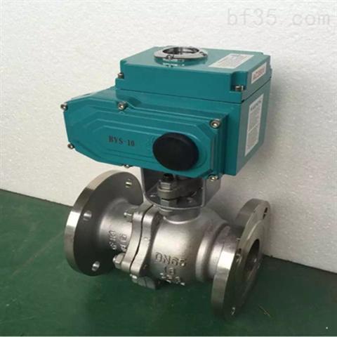 Q941F-25C DN200 AC220V电动法兰球阀