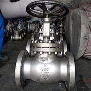CF8不锈钢 法兰API美标手动磅级截止阀